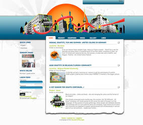 ADAE Graffiticampaign Homepage by segtec