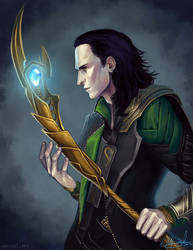 The Trickster: Loki by emengel