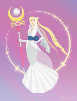 Sailor Moon: The Priestess by emengel