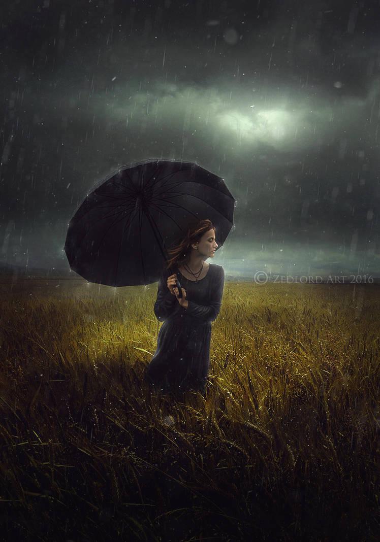 under my umbrella by ZedLord-Art
