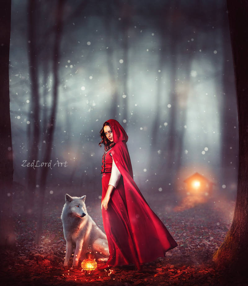 Red Riding Hood by ZedLord-Art