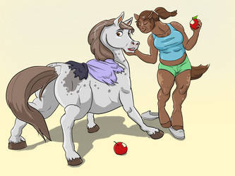 Horse Apples  Couple TF by Cayuga