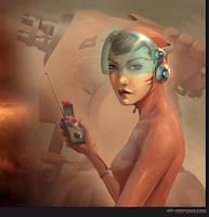 Laser Gunner Natasha by Kai-S