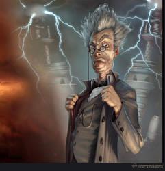 Tesla Gunner - The Professor by Kai-S