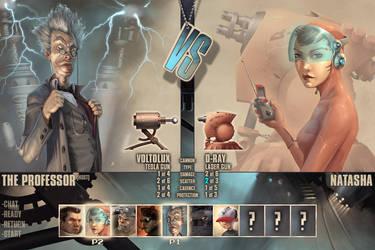 1vs1 selection screen by Kai-S