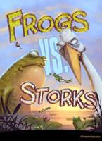 Frogs Vs. Storks by Kai-S