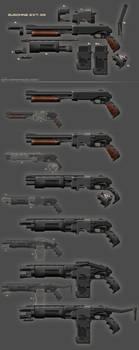 Pump Gun - weapon design by Kai-S