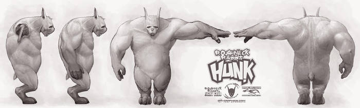 Roughneck Rabbit Hunk - og by Kai-S