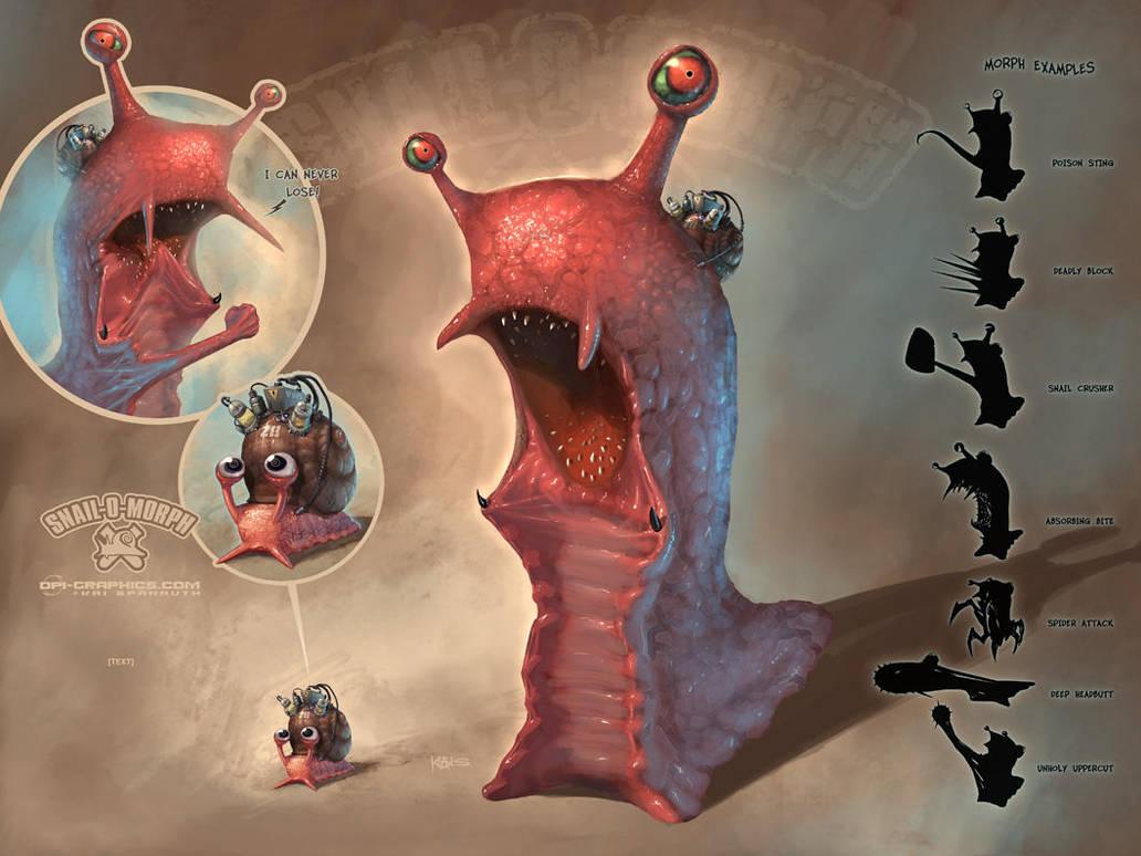 Snail-O-Morph by Kai-S