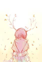 Autumn Deer by ArisuTwin