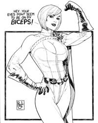 Power girl by PauloSiqueira