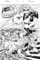 Miss Marvel page by PauloSiqueira