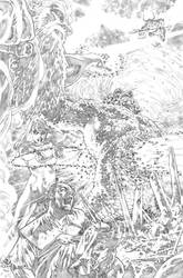 Justice League 23.1 Darkseid page 06 pencil by PauloSiqueira