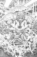 justice league 23.1 Darseid  page 09 pencil by PauloSiqueira