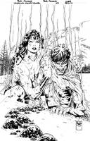 Superman Wonder Woman #07 cover  FOR SALE by PauloSiqueira