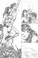 Superman WonderWoman 07 page 08 by PauloSiqueira