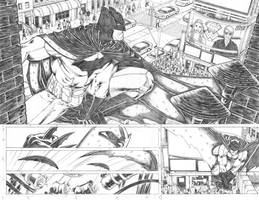 Superman WonderWoman04 pages 06 07 backup FOR SALE by PauloSiqueira