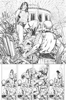 Superman WonderWoman 04 page 09 by PauloSiqueira