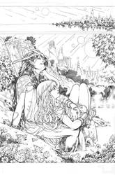 Secret origins 02 Starfire page 01 by PauloSiqueira