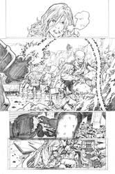 Secret origins 02 Starfire page 08 by PauloSiqueira