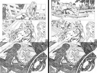 Secret origins 02 Starfire page 09 by PauloSiqueira