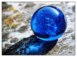 Blue Sphere by Viliggoly