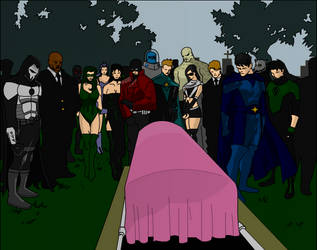 Afrodite's funeral by josephrainer