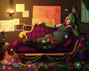 Tingle Gets A Faerie by MeteoDesigns