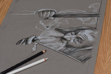 The Hobbit - Pencil Study by jasonbrian007