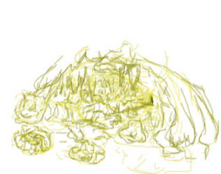 a simply cave bg (not finished yet) :) by Aldrm