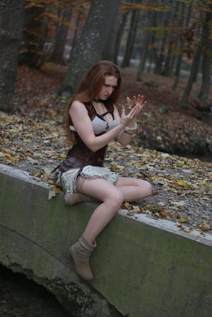 STOCK Steampunk girl V by MyladyTane