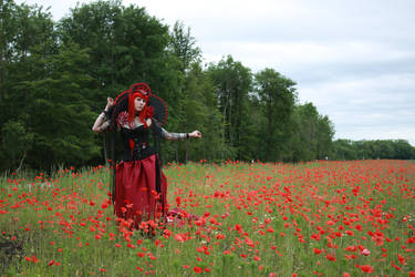 STOCK Red queen II by MyladyTane