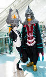 Midna and Zant at AX15 by Viveeh