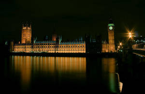 Houses of Parliament at Night by cody29