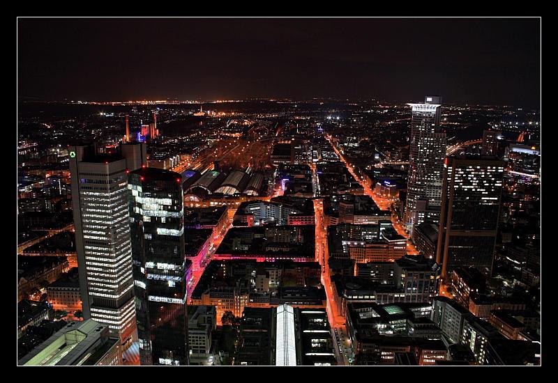 Frankfurt Skyline II by cody29