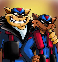 The SWAT Kats by zims-lost-soul