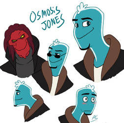 Osmosis Jones by zims-lost-soul