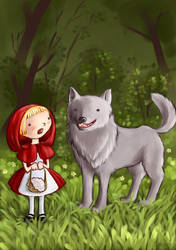 Red Riding Hood by Sjusjun