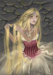 Rapunzel by Sjusjun