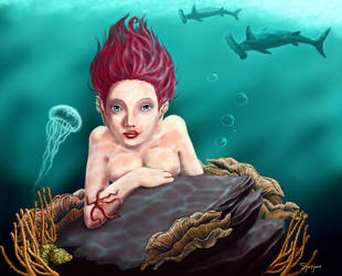 Ocean life by Sjusjun