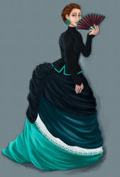 Victorian dresses by Sjusjun
