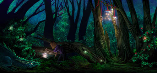 Enchanted Forest by Sjusjun
