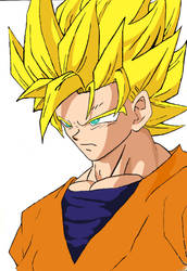 Goku Ssj by ScionFlames