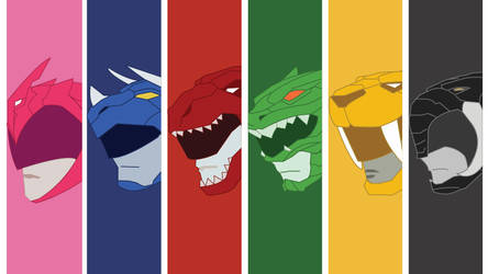 Mighty Morphin Power Rangers Wallpaper 3 by mexicoknight