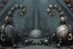 Halls of doom by FractalDesire