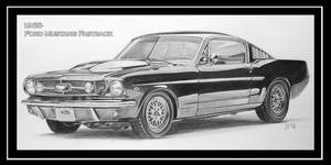ford mustang fastback by Jessy-san