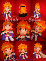 chibi Lina plush version by Momoiro-Botan