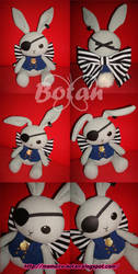 Ciel rabbit plush version by Momoiro-Botan