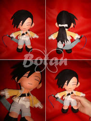chibi Ling Yao plush version by Momoiro-Botan