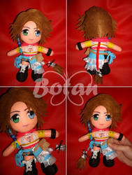 chibi Yuna plush version by Momoiro-Botan